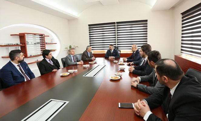 Mr. Orhan AYDIN, President of Askon is in Flekssit